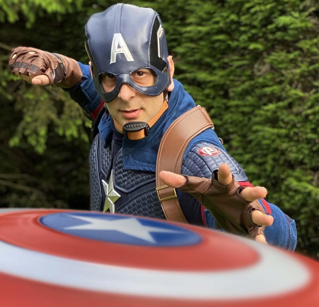 American Hero Superhero