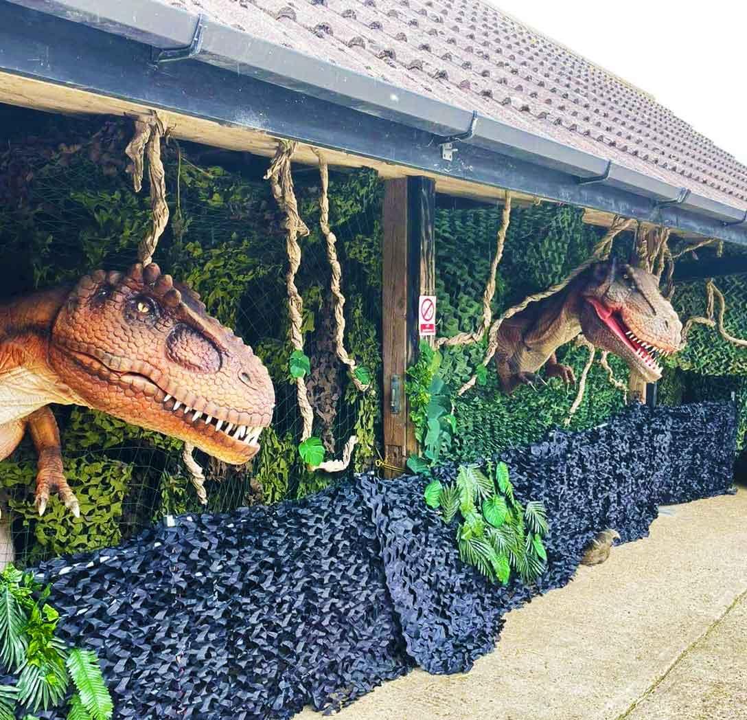 Dinosaurs at Kidsfest