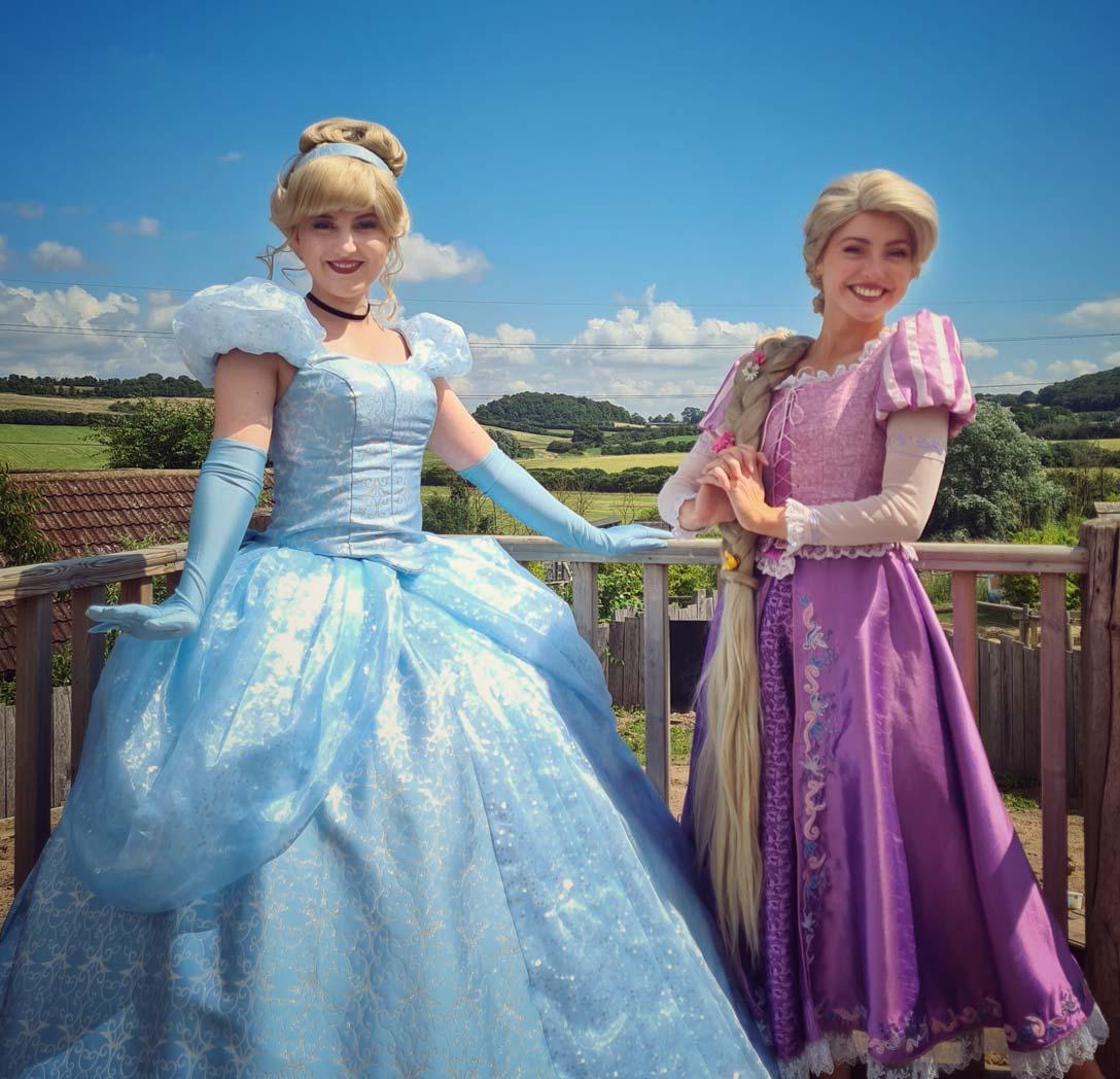Princesses at Kidsfest