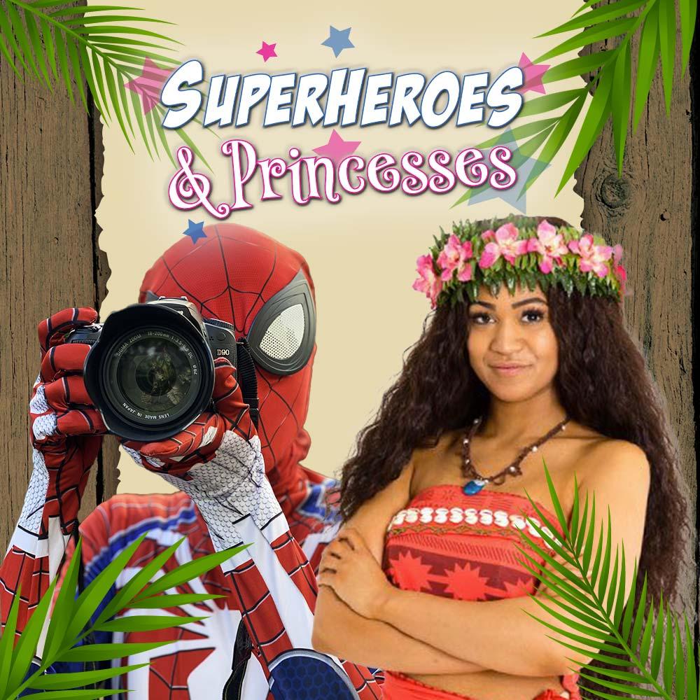 Spiderman and Moana